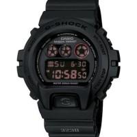 Casio Gshock DW 6900MS 1dr Original - G Shock black military dw 6900