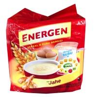 Energen Sereal Dan Susu Bergizi Rasa Jahe Minuman Serbuk Cereal 10Sach