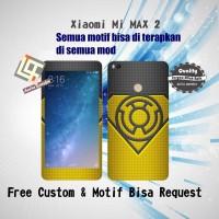 Garskin HP Xiaomi MI MAX 2 motif Logo Green - motif bisa request