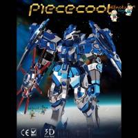 PIECECOOL 3D METAL PUZZLE | GUNDAM BLUE MAGNETIC ROTATION