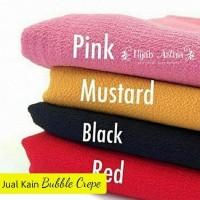 Kain Meteran Bubble Crepe bahan Jilbab Hijab Khimar Pashmina Kerudung