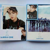 ALBUM WANNA ONE-TO BE ONE (SKY VER MEMBER SIGNED) HA SEUNGWOON SET