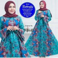 gamis batik pakaian wanita muslim batik modern