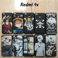 hardcase custome anime/animasi xiaomi redmi 4x one piece/naruto