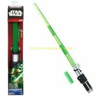 ORIGINAL YODA LIGHTSABER ELECTRONIC Star Wars MISB Hasbro