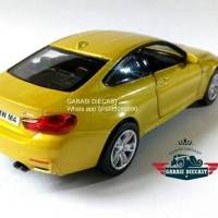 Diecast BMW M4 coupe 1:43