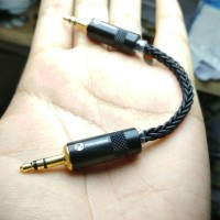 m2m black snake yongseng jack 3.5mm gold