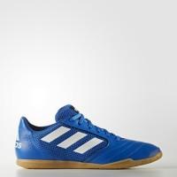 Original Sepatu Futsal Adidas Men's Soccer Ace 17.4 Sala Shoes Blue