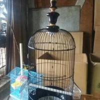 Kandang burung Pleci / Parkit / Ciblek bahan besi