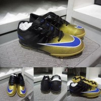 Sepatu Futsal anak Nike Mercurial Superfly CR7 TF Black Gold