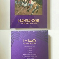 [READY STOCK] WANNA ONE Album 'Nothing Without You'