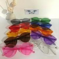 Kacamata Jelly Geely UV / Kacamata Selebgram Fashion Murah Laris Candy