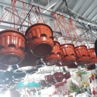 pot bunga gantung glory warna(ada tatakan.a)