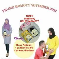 promo midi dress hamil momoty gratis tas momoty