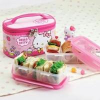 Lock n Lock Hello Kitty Lunch Box Set 2-tier