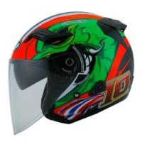 Helm Motor HalfFace Double Visor KYT Venom Open Thitipong Murah