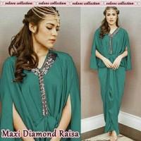 Maxi kaftan diamond raisa 2WARNA GESER GAMBAR/maxy/longdress/muslim