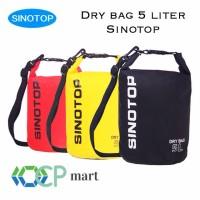 Dry Bag 5L SINOTOP Waterproof bag Tas anti air Drybag Outdoor 5 Liter