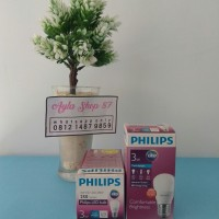 Lampu LED Philips 3 watt / bohlam 3w / philips putih 3w / Bulb LED 3w