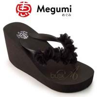 Harga sandal wanita sandal wedges wanita brand megumi women cherry | Pembandingharga.com