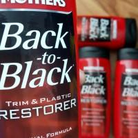 MOTHERS BACK TO BLACK TRIM & PLASTIK RESTORER