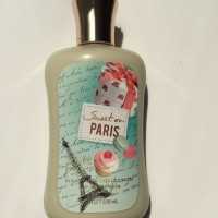 sweet on paris body lotion bath and body works 236ml BBW