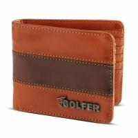 Real pic Dompet Kasual Pria coklat Golfer GF.2801 murah asli ori orig