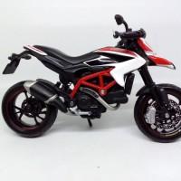 Diecast Motor Maisto Skala 1/12 - Miniatur Motor Ducati Hypermotard SP