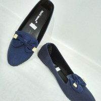 Sepatu Wanita Flat shoes Biru 36