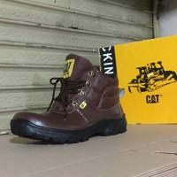 sepatu pria TERMURAH original caterpillar safety shoes