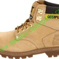 Sepatu safety Caterpillar Second shift ST honey original Berkualitas