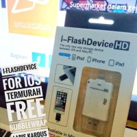 iflash drive device i-flash transfer data iOS iPhone iPad lightning