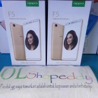 Hp Oppo F5 Black New 20MP Full HD Garansi Resmi (RAM 4GB+ROM 32GB)