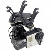 Feiyu Tech FY G3 2 Axis Phantom Mount Gimbal Brushless AirCraft Aerial