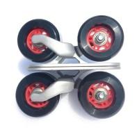 Outdoor Sport Freeline Skates/ Papan Skateboard Mini Anti Selip