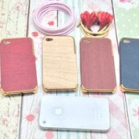 Wood Golden Casing | Case | Sarung Hp | Pelindung Hp | Skin Hp | For