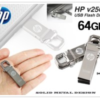 Flashdisk HP V250w 64GB - Solid Metal Design By: MS Store