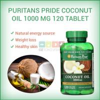 Harga puritans pride coconut oil 1000 mg weigh loss kesehatan kulit 120 | Pembandingharga.com