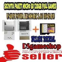 MEMORY CARD PSVITA / SD2VITA PAKET MICRO SD 128GB FULL GAMES PS VITA