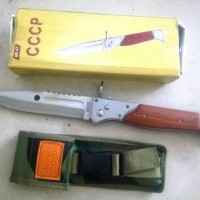 Pisau Lipat Tactical Survival Outdor CCPC AK-47 AUTOMATIC LONG BLADE