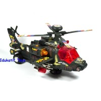 Mainan Helicopter Tempur, Helikopter Apache