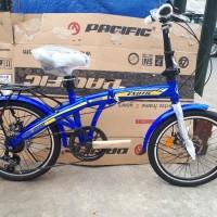 TERBARU Sepeda 20 Lipat Exotic 2625 Rem CAKRAM Jabodetabek promo pria