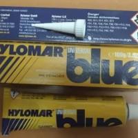 hylomar universal blue instant gasket sealing compound.