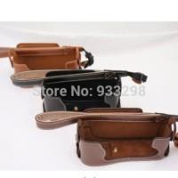 Fujifilm Fuji X-E1 X-E2 XE1 XE2 PU Leather Camera Bag Half Body Strap