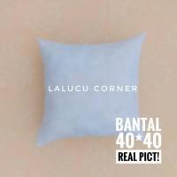 Jual Bantal Kursi Sofa Full Silikon 40x40 / Insert Cushion Murah