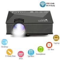 Proyektor UNIC UC46 Portable Mini 1080P WiFi LED Projector