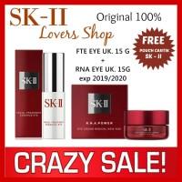 SK-II/SK2/SKII/SK II/SKII FTE EYE + RNA POWER EYE / SERUM + CREAM