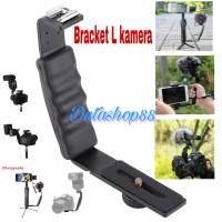bracket L kamera / bracket L 2 shoe flash