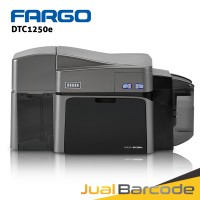 ID CARD PRINTER FARGO DTC1250E | DTC1250 E | DTC 1250 DUAL SIDE