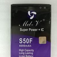 Baterai Batre Double Power + IC Advan S50F Battery Original